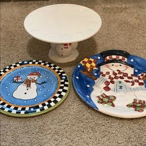 Bundle of Christmas Entertaining Pieces